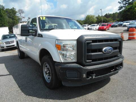 2012 Ford F-250 Super Duty for sale at AutoStar Norcross in Norcross GA