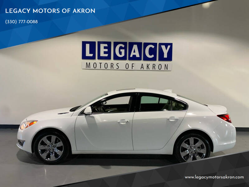 2016 Buick Regal for sale at LEGACY MOTORS OF AKRON in Akron OH