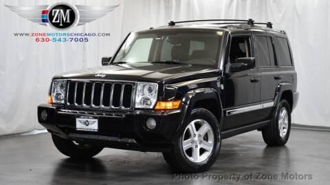 2009 Jeep Commander for sale at ZONE MOTORS in Addison IL