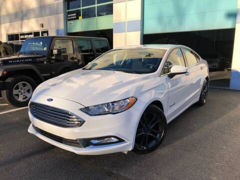 2018 Ford Fusion Hybrid for sale at Best Auto Group in Chantilly VA