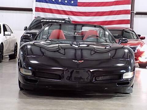 2002 Chevrolet Corvette for sale at Texas Motor Sport in Houston TX