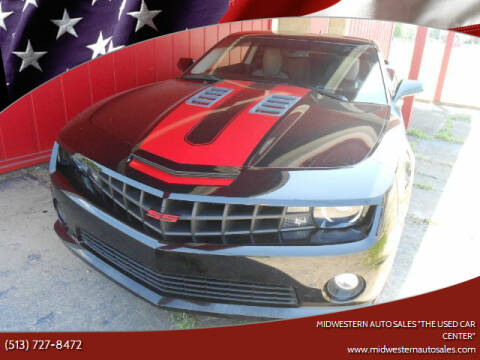 "2012 Chevrolet Camaro for sale at MIDWESTERN AUTO SALES        ""The Used Car Center"" in Middletown OH"