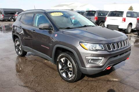 2018 Jeep Compass for sale at LJ Motors in Jackson MI