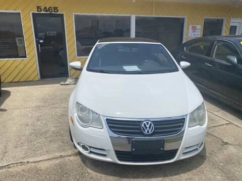 2011 Volkswagen Eos for sale at THE COLISEUM MOTORS in Pensacola FL