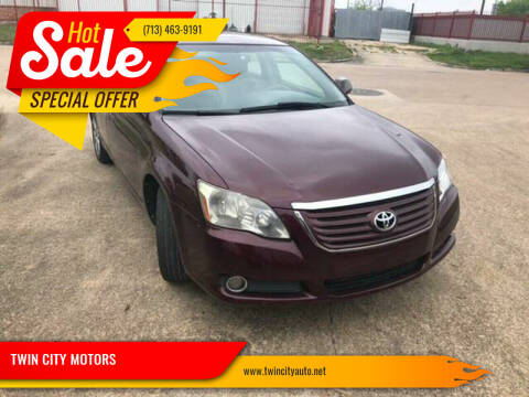 2008 Toyota Avalon for sale at TWIN CITY MOTORS in Houston TX