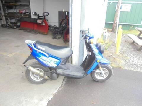 2002 Yamaha zuma for sale at Engels Autos Inc in Ramsey MN