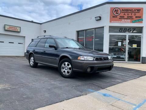 1998 Subaru Legacy for sale at HIGHLINE AUTO LLC in Kenosha WI