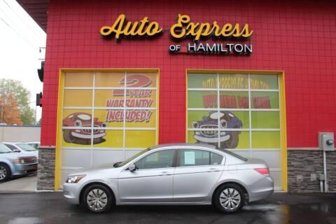 2009 Honda Accord for sale at AUTO EXPRESS OF HAMILTON LLC in Hamilton OH