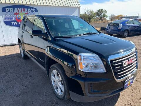 2017 GMC Terrain for sale at Praylea's Auto Sales in Peyton CO