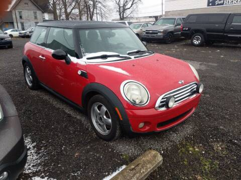 2010 MINI Cooper for sale at Sprinkle's Auto Sales LLC in Marion OH
