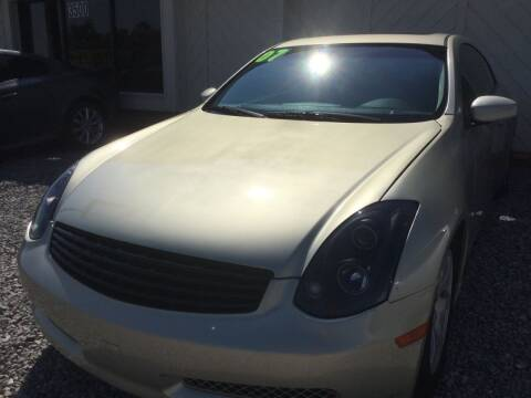 2007 Infiniti G35 for sale at LOWEST PRICE AUTO SALES, LLC in Oklahoma City OK