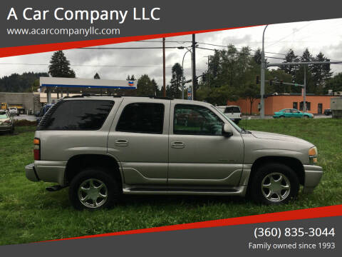 2004 GMC Yukon for sale at A Car Company LLC in Washougal WA