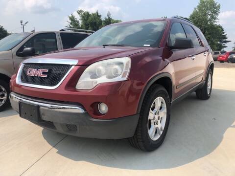 2009 GMC Acadia for sale at Wolff Auto Sales in Clarksville TN