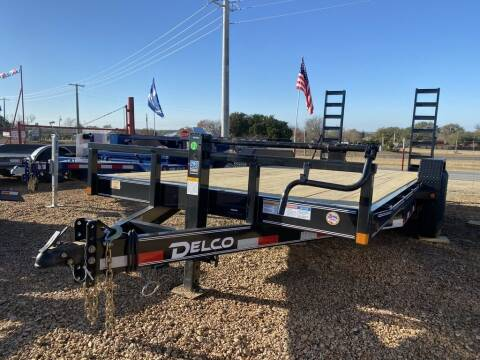"2021 DELCO  - Equipment 83"" X 18' -  for sale at LJD Sales in Lampasas TX"