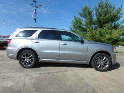 2017 Dodge Durango for sale at BLACKWELL MOTORS INC in Farmington MO