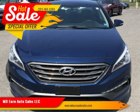2015 Hyundai Sonata for sale at MD Euro Auto Sales LLC in Hasbrouck Heights NJ