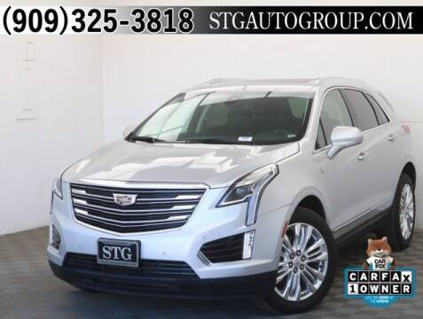 2019 Cadillac XT5 for sale at STG Auto Group in Montclair CA