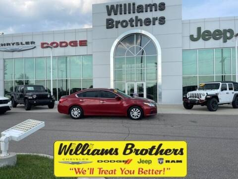 2016 Nissan Altima for sale at Williams Brothers - Pre-Owned Monroe in Monroe MI