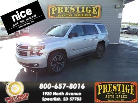 2019 Chevrolet Tahoe for sale at PRESTIGE AUTO SALES in Spearfish SD