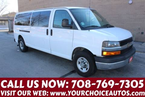 2014 Chevrolet Express Passenger for sale at Your Choice Autos in Posen IL