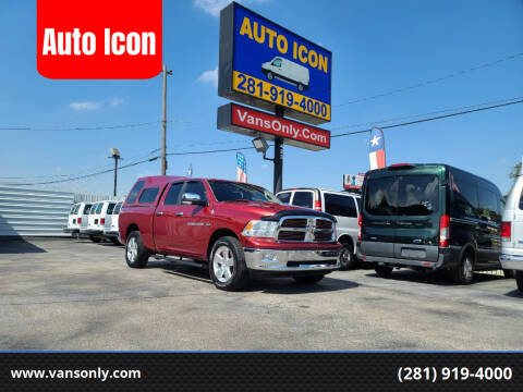 2012 RAM Ram Pickup 1500 for sale at Auto Icon in Houston TX