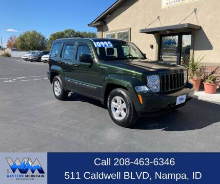 2011 Jeep Liberty for sale at Western Mountain Bus & Auto Sales in Nampa ID