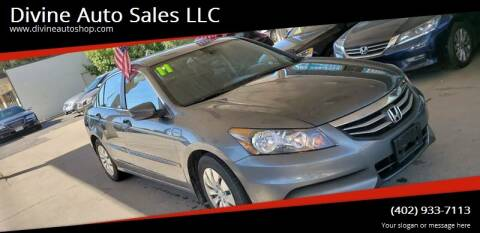 2011 Honda Accord for sale at Divine Auto Sales LLC in Omaha NE