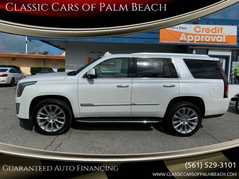 2020 Cadillac Escalade for sale at Classic Cars of Palm Beach in Jupiter FL
