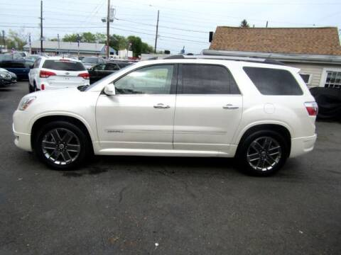 2011 GMC Acadia for sale at American Auto Group Now in Maple Shade NJ