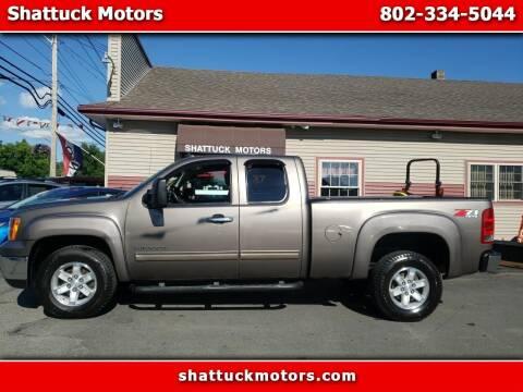 2013 GMC Sierra 1500 for sale at Shattuck Motors - NEKtrucks.com in Newport VT