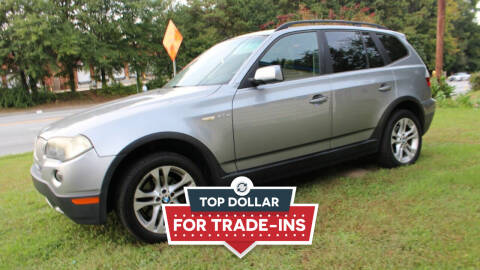 2007 BMW X3 for sale at NORCROSS MOTORSPORTS in Norcross GA