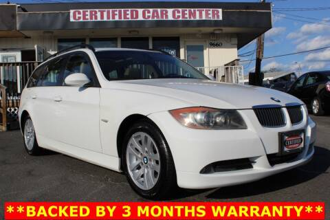 2007 BMW 3 Series for sale at CERTIFIED CAR CENTER in Fairfax VA