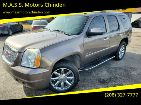 2011 GMC Yukon for sale at MASS Motors West Fairview in Boise ID