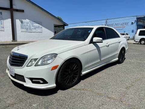 2011 Mercedes-Benz E-Class for sale at All Cars & Trucks in North Highlands CA