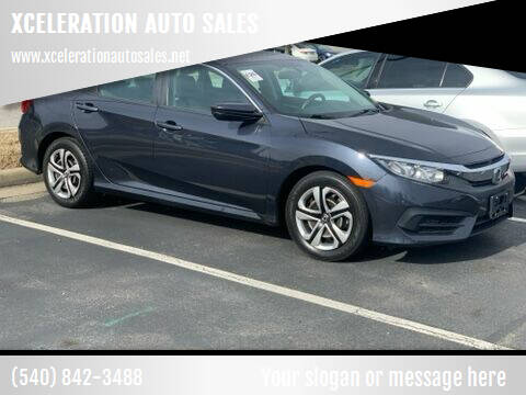 2017 Honda Civic for sale at XCELERATION AUTO SALES in Chester VA