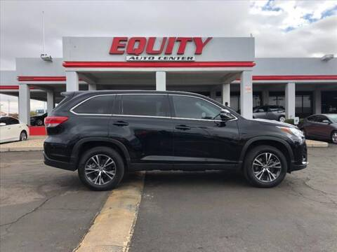 2019 Toyota Highlander for sale at EQUITY AUTO CENTER in Phoenix AZ