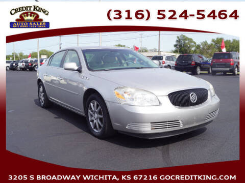 2007 Buick Lucerne for sale at Credit King Auto Sales in Wichita KS