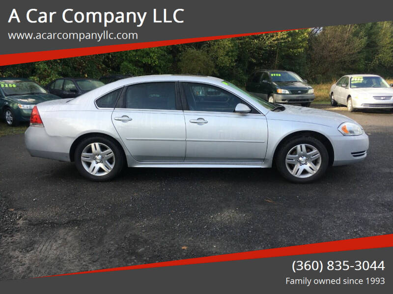 2012 Chevrolet Impala for sale at A Car Company LLC in Washougal WA