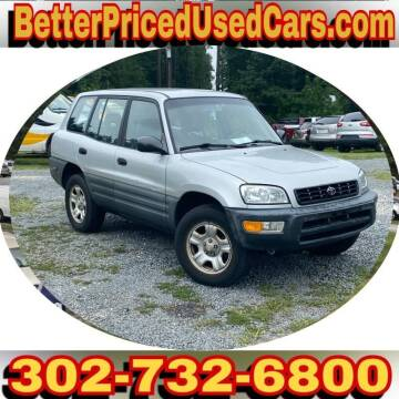 1998 Toyota RAV4 for sale at Better Priced Used Cars in Frankford DE