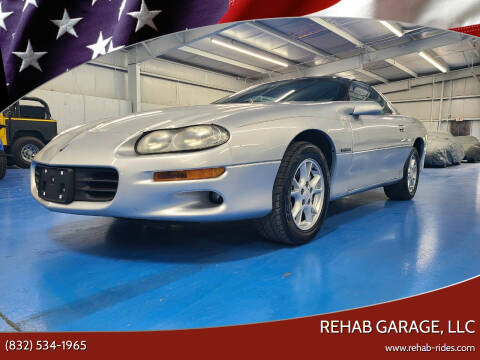 2000 Chevrolet Camaro for sale at Rehab Garage, LLC in Tomball TX
