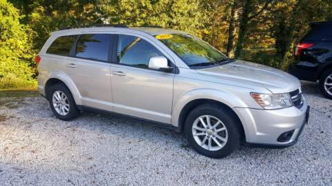 2014 Dodge Journey for sale at Victory Auto Sales LLC in Mooreville MS