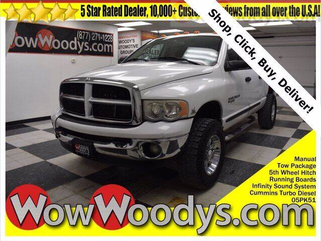 2005 Dodge Ram Pickup 2500 for sale at WOODY'S AUTOMOTIVE GROUP in Chillicothe MO