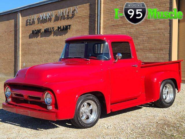 1956 Ford F-100 for sale at I-95 Muscle in Hope Mills NC