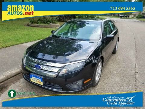 2011 Ford Fusion for sale at Amazon Autos in Houston TX