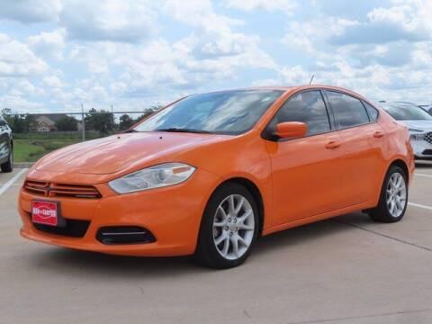 2013 Dodge Dart for sale at BIG STAR HYUNDAI in Houston TX