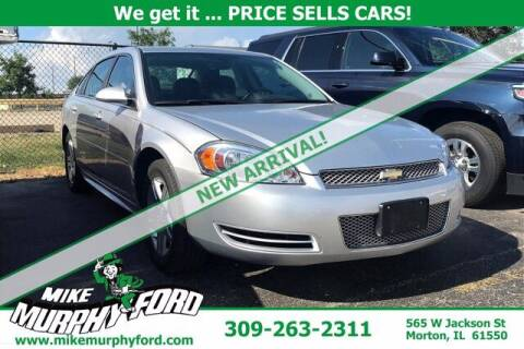 2012 Chevrolet Impala for sale at Mike Murphy Ford in Morton IL