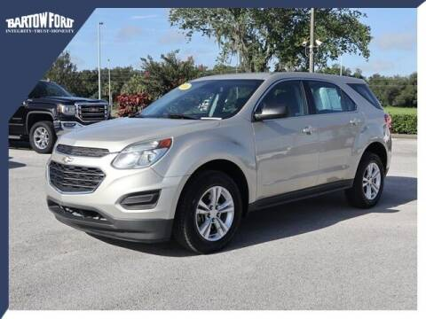 2016 Chevrolet Equinox for sale at BARTOW FORD CO. in Bartow FL
