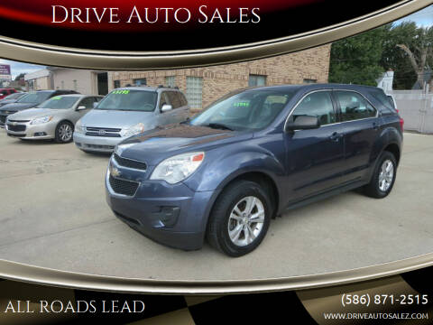 2013 Chevrolet Equinox for sale at Drive Auto Sales in Roseville MI