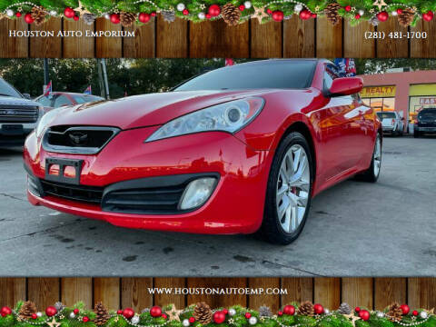 2011 Hyundai Genesis Coupe for sale at Houston Auto Emporium in Houston TX