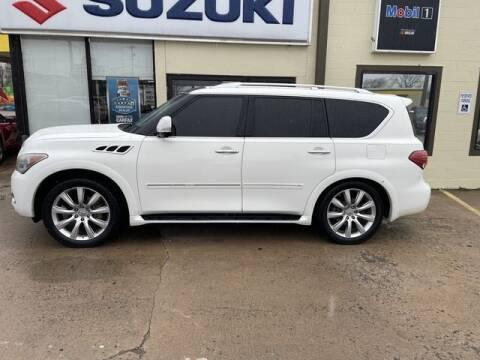 2012 Infiniti QX56 for sale at Suzuki of Tulsa - Global car Sales in Tulsa OK
